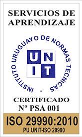 certificado iso 29990